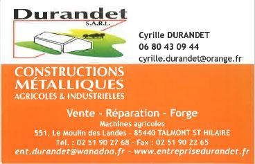 Durandet construction metalique